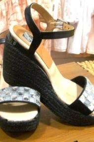 Calzado Combi negro