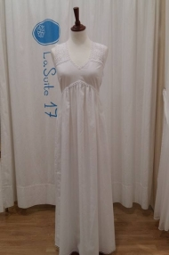 Vestido Espalda Bordada ref.160361627