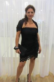 Vestido corto drapeado by Charo Ruiz